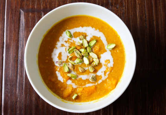 lentil curry soup